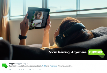 Flipgrid- Social Media Advertisement
